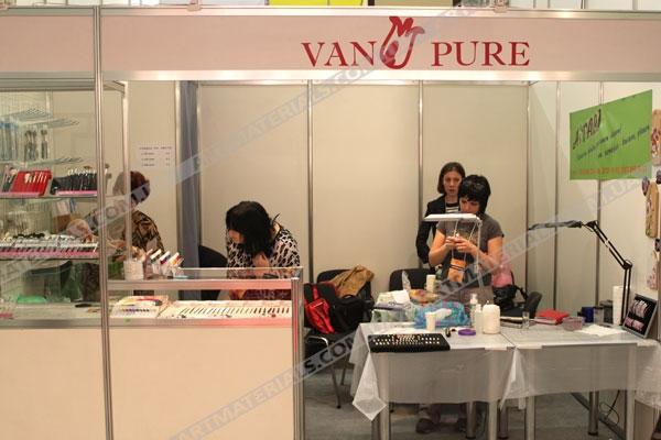 Van Pure На выставке Estet Beauty Expo 2012